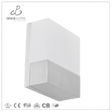 LED wall lamp in acrylic and aluminum material small wall lamp
