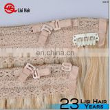 Top Quality 100% Remy Human Hair Weave Cheap Price Crochet Hair Extension No shedding No tangle Halo Hair