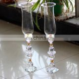 Glass candle flame protectors crystal globe candle holder wholesale yiwu wholesale crystal crafts