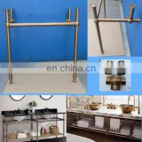 chrome brass legs for porcelain bathrooom washstand, sink stand console