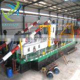 8 inch hydreulic Cutter Suction mud Dredger from China in sale with ISO9001