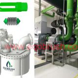 Chiller condenser tubes  cleaning equipment