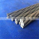 High tensile  Prestressed 15.2mm PC Strand wire Price for bridge