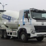 china sinotruk 8m3 HOWO A7 mixer truck concrete mixer truck empty weight