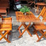 2015 HOT SALE from Factory - made in vietnam table and chair - vietnam furniture table and chair - furniture vietnam chair