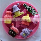 Nicole silicone rubber molds for baby DIY clay modeling models clay modeling tools resin molds F0260