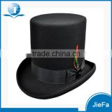 High Quality Low price Gentlemen Black Top Hat