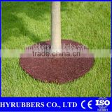 Qingdao manufacture cheap Rubber Mulch Tree Ring,tree rings