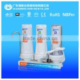 small home appliance pre-filtration countertop kitchen water filter tap water purifier for home PP+GAC+CTO