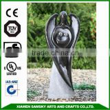 fiberglass outdoor garden water fountain LOVE ANGEL FOUNTAIN