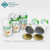 Custom Protein Powder Use Paper Tube Packaging Boxes