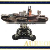 AK-5019 Trustworthy China Supplier Dining Table With Pool Table