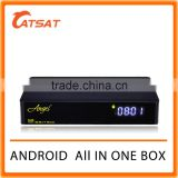 Newest Quad Core Android TV Box Combo DVB-S2 DVB-T2 DVB-C 4K Full HD Wifi Bluetooth Support