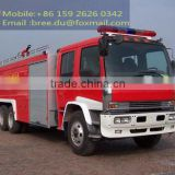 Water Tank Fire Extinguishing Vehicle 6X4 for emergency situation/fire disaster/forest fire
