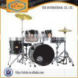 Wholesales 20015 new developed high grade paint lacquer 5--pc maple wood Drum Set TM0320