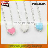 Simple Factory Wholesale beautiful small fresh exquisite wild sweet love Daren Heart Necklace