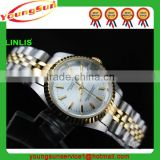Newest Hot Fully Golden Silver Diamond Crystal Bling Ladies Watches