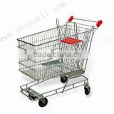 Australian style supermarket shopping trolley 150L