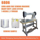 SHENPENG FGB6806 long arm flat bed free-form lockstitching industrial FIBC bag sewing machine