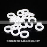 Industrial insulation wear resistance 95% alumina ceramic ring for thermostat