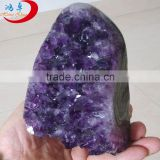 Decorative Large Natural Rock Amethyst Crystal Clusters For Sale