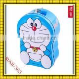 2012 Hot Selling Lovely Cartoon Doraemon-Tin-Money-Box