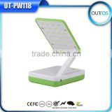 High capacity 10400mah power bank with foldable desk lamp function