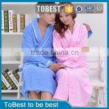 ToBest Hotel supplies factory wholesale waffle couples bath robe