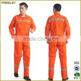 High Quality Flame Retardant Coverall / Fire Resistant Workwear For Men