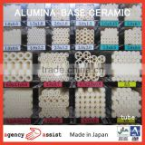 High quality japanese black ceramic plate alumina ceramic with multiple functions made in Japan