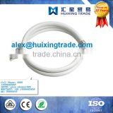 Washing machine anti-explosion inlet flexible pipe plastic hose water inlet extension pipe with white connector