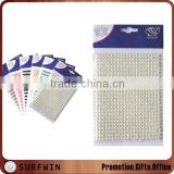 self adhesive pearls and rhinestone stickers                                                                         Quality Choice