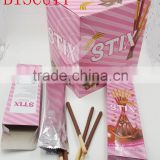 STIX biscuit stick coated with chocolate confectionery                                                                         Quality Choice