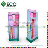 New Design Cardboard Hook Display for Bag Display Rack, Cardboard Display Stand Supplier