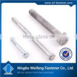 Hot zinc/black plated titanium hexagon flange bolt,high quality box packed ningbo fastener manufacturers
