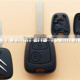 ABS car remote key cover for citroen 02-05 C2 C3 C4 C5 No Chips Inside 2 button VA2 blade remote key shell cover
