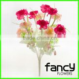9 heads artificial carnation flower for wedding decoration