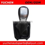 YUCHEN Car Shift Gear Knob With Gaitor For Skoda Superb II 3T 2008-2012 OEM 3T0711113/3TD711113RYP