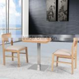 Sanlang bar furniture for restaurant high back wooden dining chair
