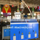 2015 new pvc formwork board production line/green recyclable board for furniture/double conical screw extruder