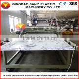 PVC Marble Stone Surface Design Wall Panel/ Indoor Bathroom Kitchen Decorative Panel Production Line