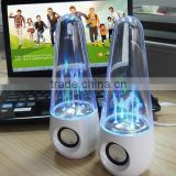Water dancing speaker bluetooth stereo Led music speaker usb water spray audio computer peripheral audio