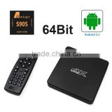 Quad core tv box android 5.1mini pc S905 cortex-A53 top brand android tv box xbmc jelly bean Pro-load XBMC addons/channels