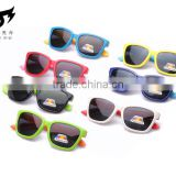 New design Kids silicone polarised sunglasses cute glasses