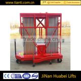 Factory direct sell telescopic ladder vertical electric lifting aluminum elevating platform lift