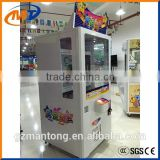 Mantong prize game machine/ toy claw crane game machine on sale with beautiful design
