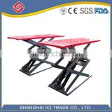launch hot sale hydraulic scissor car lift,electric hydraulic car scissor lift,scissor lift car for sale