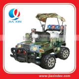 Platic electronic car toy for children with MP3