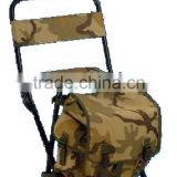 Camping Folding lightweight fishing stool with a kitbag