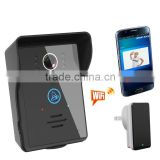 Motion detection With rain cover and touch key surface wifi doorbell camera video door phone